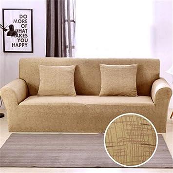 JITIAN Cubiertas de sofá Patrón Cruzado Estiramiento ...