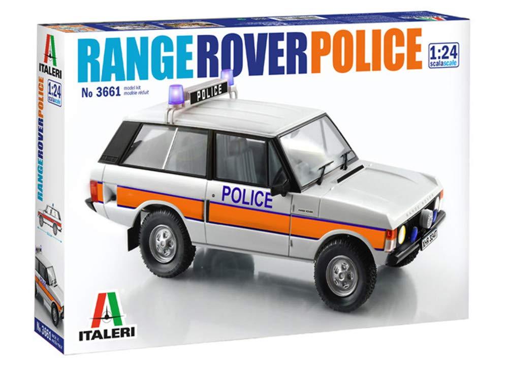 calidad de primera clase Italeri 1/24 1/24 1/24 - Range Rover (policía) 3661  hasta un 65% de descuento