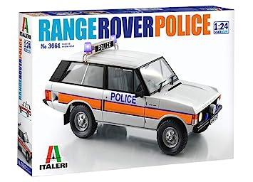 Italeri 3661S 3661S-1:24 Range Rover Police - Juego de construcción de maquetas, construcción de Modelos, Manualidades, aficiones, Pegamento, Kit de ...