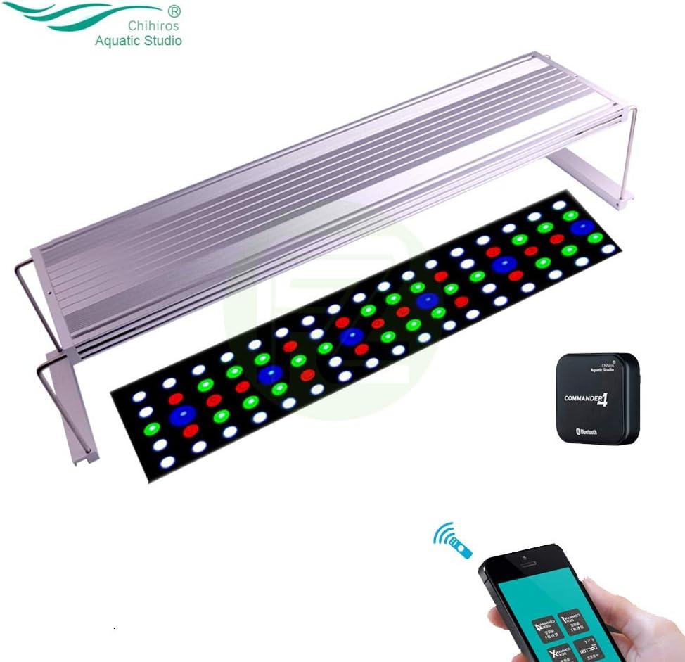 Chihiros WRGB 90 LED illuminazione per acquario piante acquatiche lampada di luce con comando 4 controller