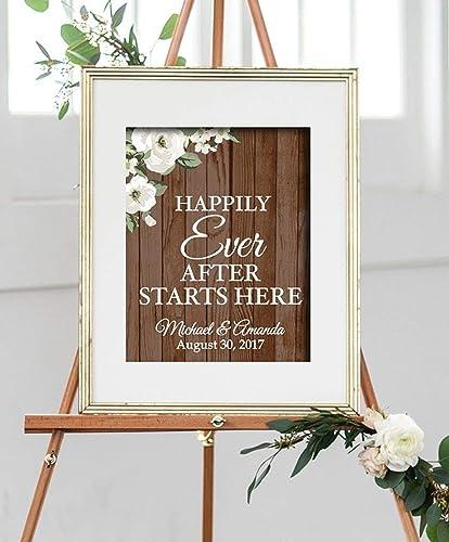 Amazon Com Custom Wedding Paper Art Print Wedding