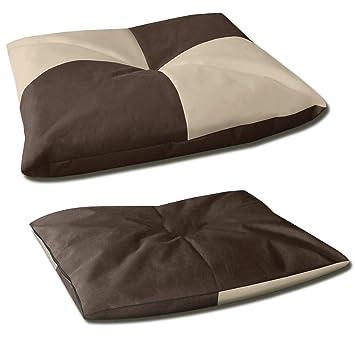 BedDog BONA 2en1 beige/marron XL aprox. 80x65cm colchón para perro, 6 colores, cama para perro, sofá para perro, cesta para perro: Amazon.es: Coche y moto