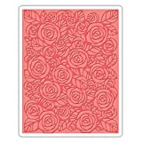 Sizzix 661829 Texture Fades Embossing Folder Roses