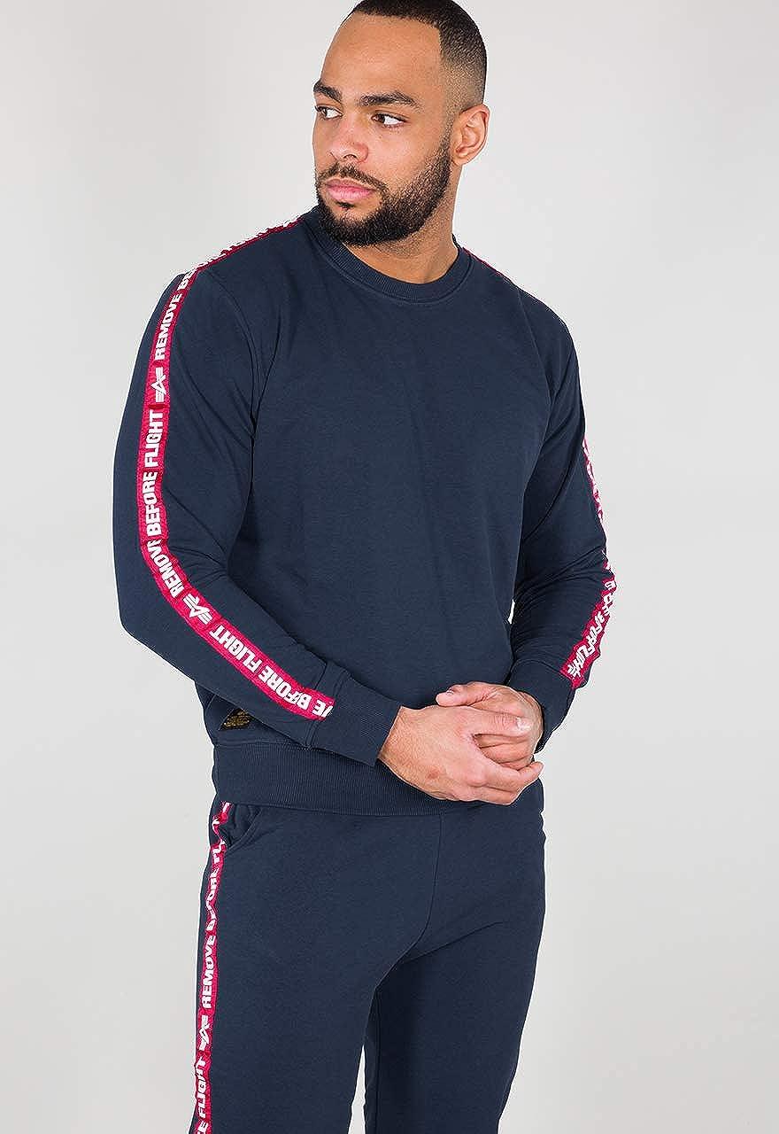 Alpha Industries RBF Tape Sweater Bleu Nuit