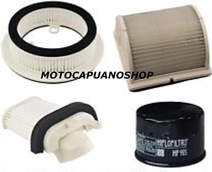 Kit 3 filtros filtro aire Aceite laterales Motor Yamaha Tmax T-Max ...