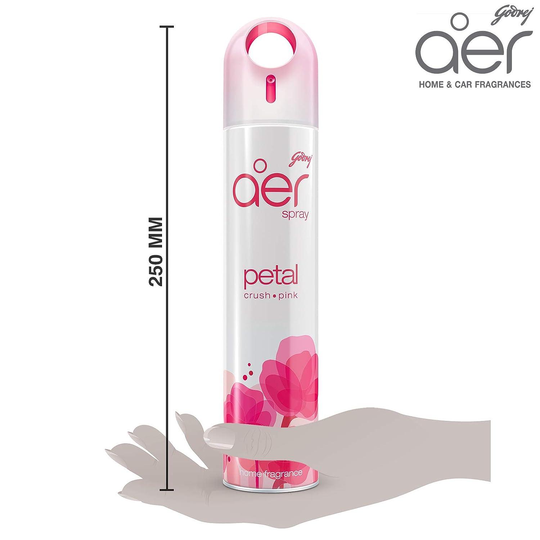 Air Freshener Spray Godrej aer Home Petal Crush Pink 240 ml