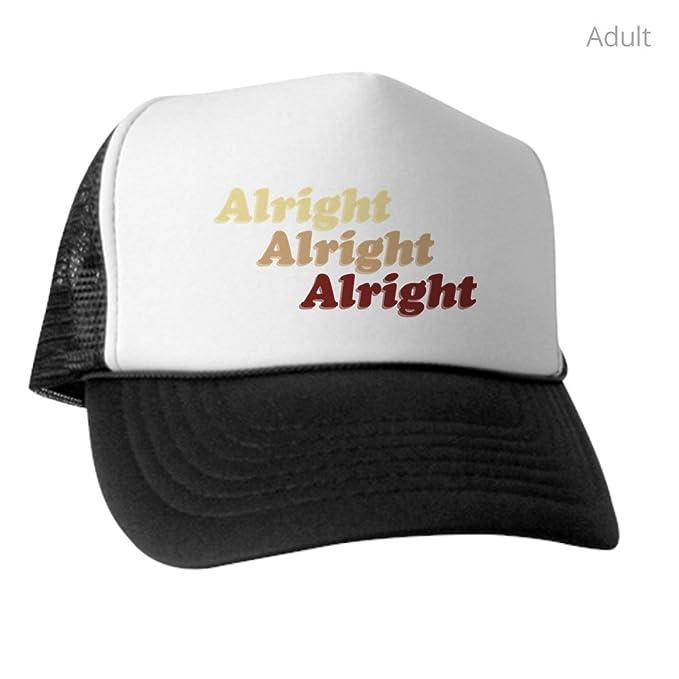 3aa1affe3 Amazon.com: CafePress - Alright - Trucker Hat, Classic Baseball Hat ...