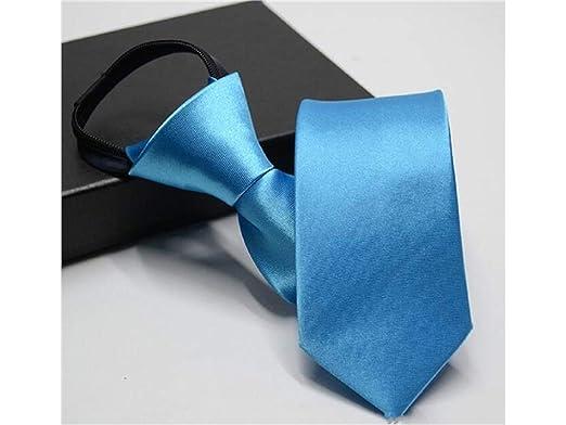 Salamii - Corbata de Boda para Hombre, con Cremallera, Color ...