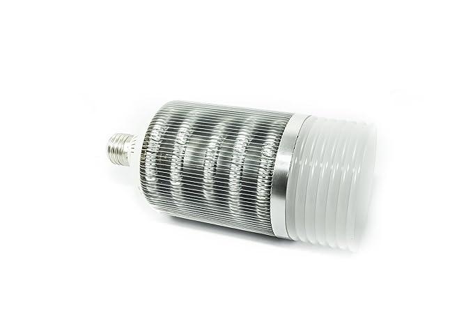 Bombilla LED BIG Disipador Aluminio W, ALTA Potencia W, E27 C36-Luz de