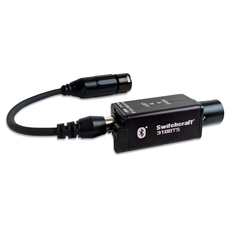 Switchcraft AudioStix 318BTS XLR Bluetooth Receiver - Stereo