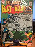 Batman #203, Aug. 1968. 80 Page Giant #G-49. Secrets of the Batcave. Neal Adams cover