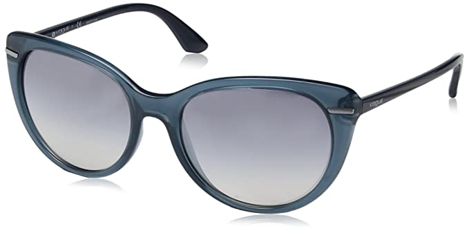 Vogue 0Vo2941S, Gafas de Sol para Mujer, Opal Light Blue, 56