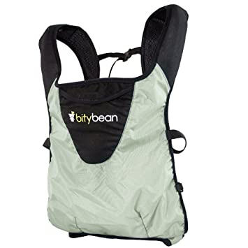 e25325f4df2 Amazon.com   Bitybean UltraCompact Baby Carrier - Sand Grey   Backpacks  Carriers   Baby