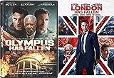 London Has Fallen + Olympus Has Fallen Action Bundle DVD Movie 2 Film Set
