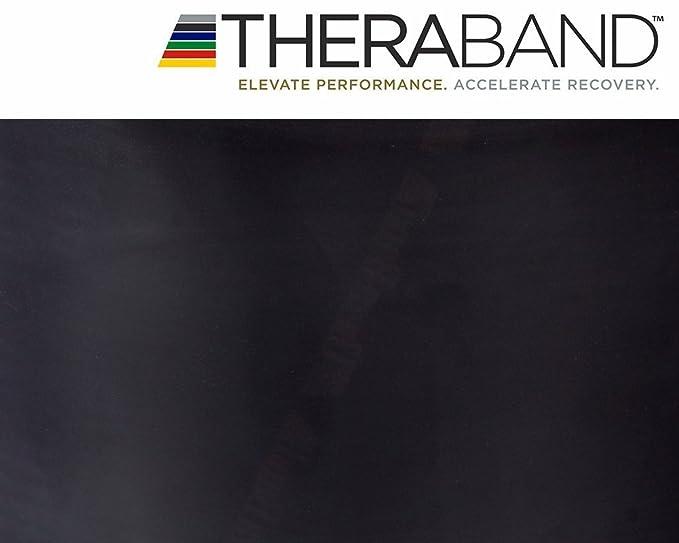 Theraband Thera-Band 3.0m Gymnastikband /Übungsband NEU/&OVP SCHWARZ