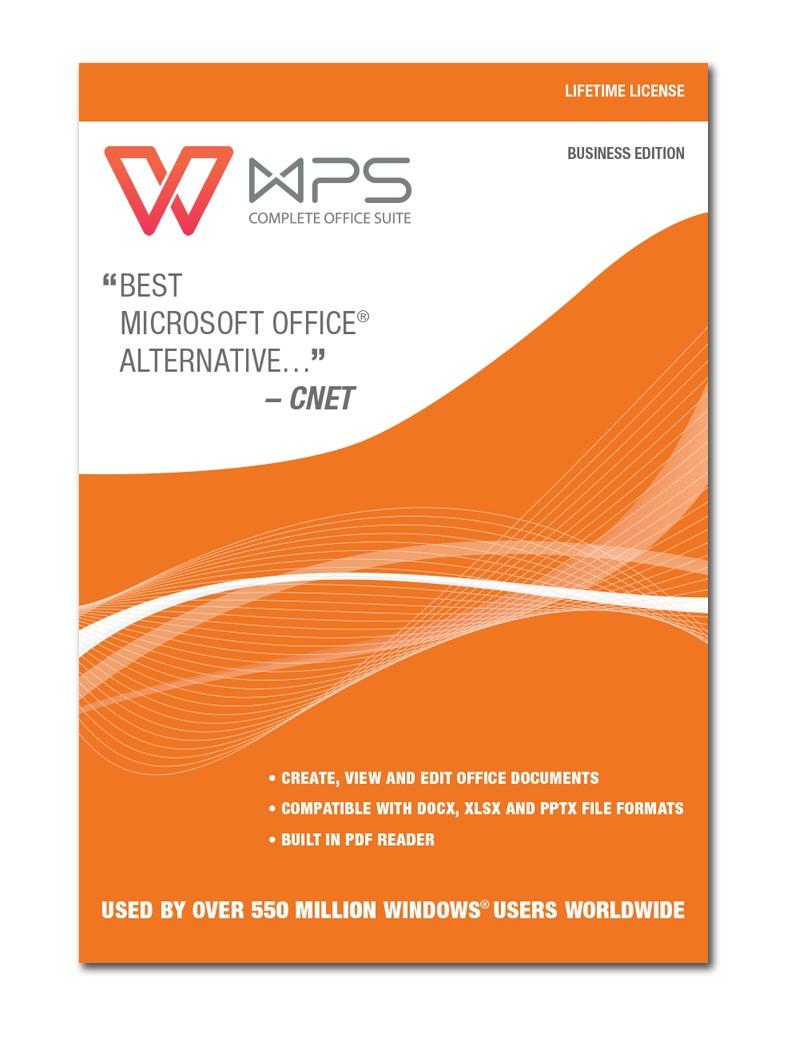 WPS Office Business Edition - Lebenslange Lizenz [Download]: Amazon ...