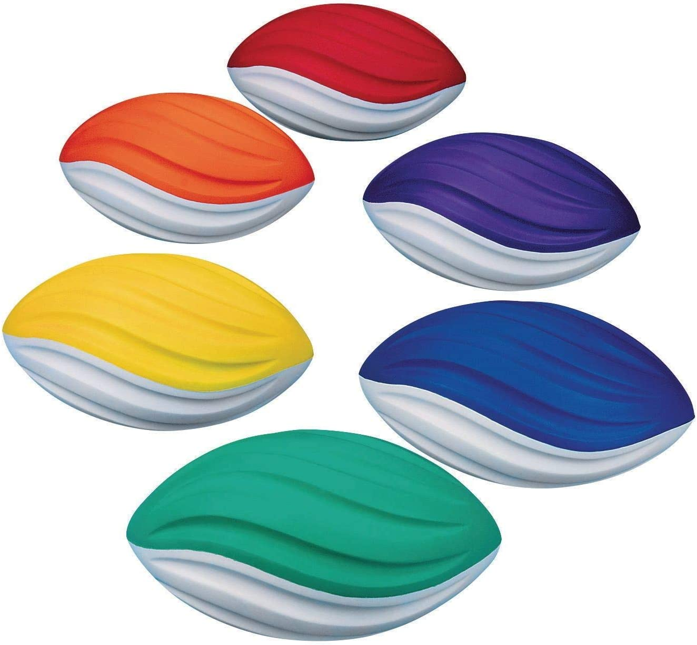 Official Size-Orange S/&S Worldwide Spectrum Rubber Football