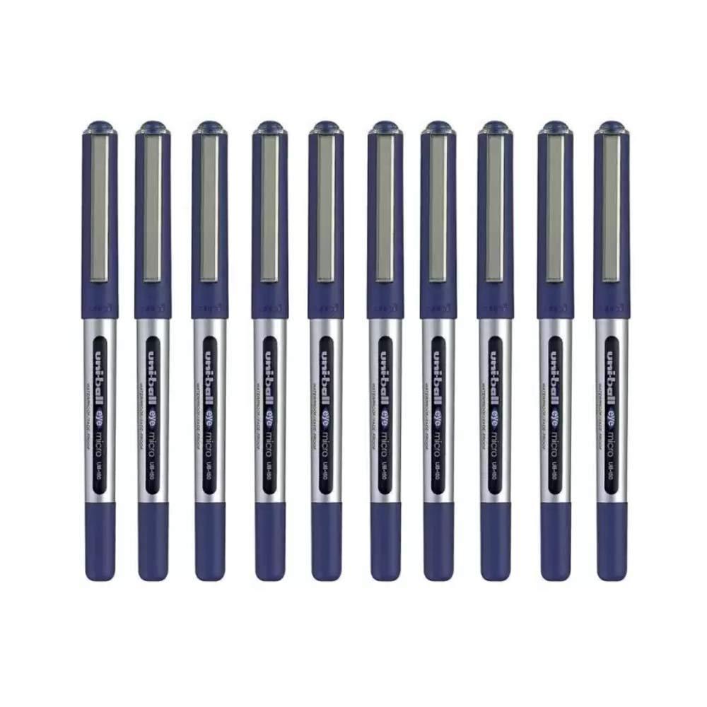 0,5 mm Blu 10 pezzi UB-150 Uni-Ball Eye Micro penna inchiostro gel