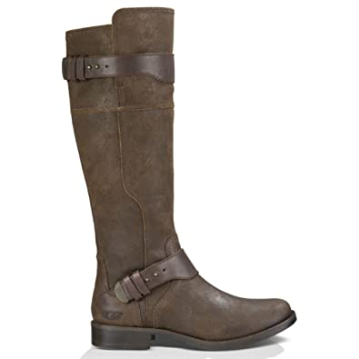 UGG Women's Dayle Lodge Leather Boot 5 B ...