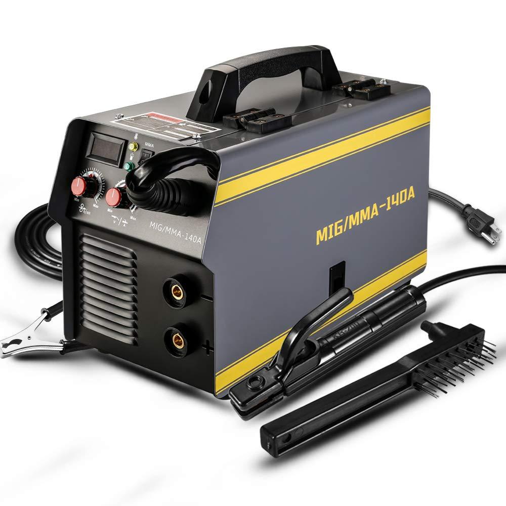 MIG Welding Equipment DEKOPRO MIG/MMA Welder,140A Welder Machine ...