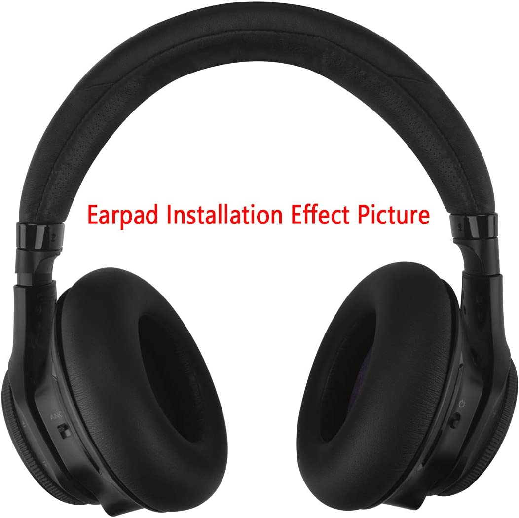 Geekria Earpad Replacement for Plantronics BackBeat PRO Headphone Ear Pad Ear Cushion Ear Cups Ear Cover Earpads Repair Parts Black