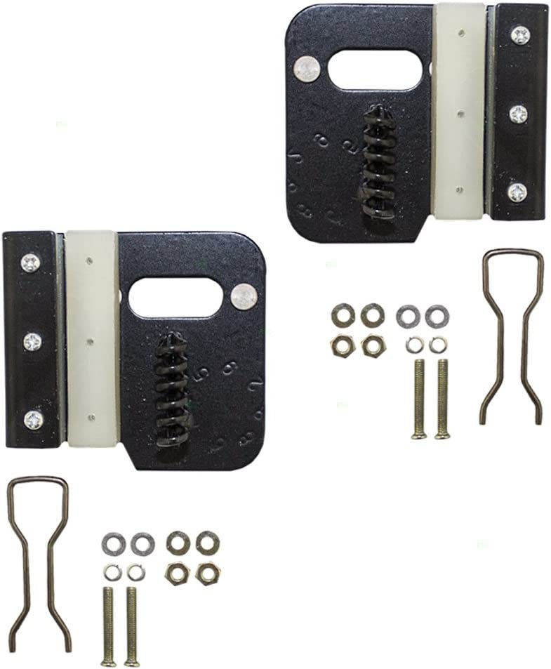 Driver and Passenger Rear Power Window Lift Regulator Repair Kits Replacement for Jeep SUV 68059647AA 68059646AA