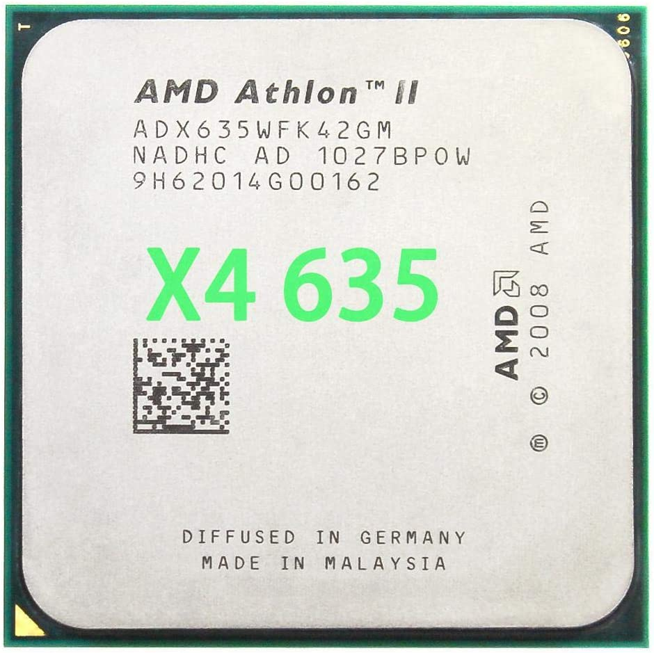 2000GHz Socket Am3 Am2+ AMD Athlon II X4 635 CPU Processor Quad-CORE 2.9Ghz// L2 2M //95W