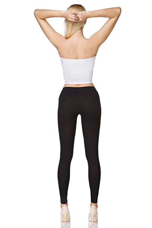 f6b360001cfef MITAAMI High Waisted Leggings for Women with Control Waistband Plus Sizes  LWP: Amazon.co.uk: Clothing