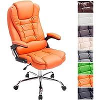 CLP Fauteuil de Directeur Thor, Chaise réglable en Hauteur, capacité de Charge 150 kg, Rembourrage de Haute qualité