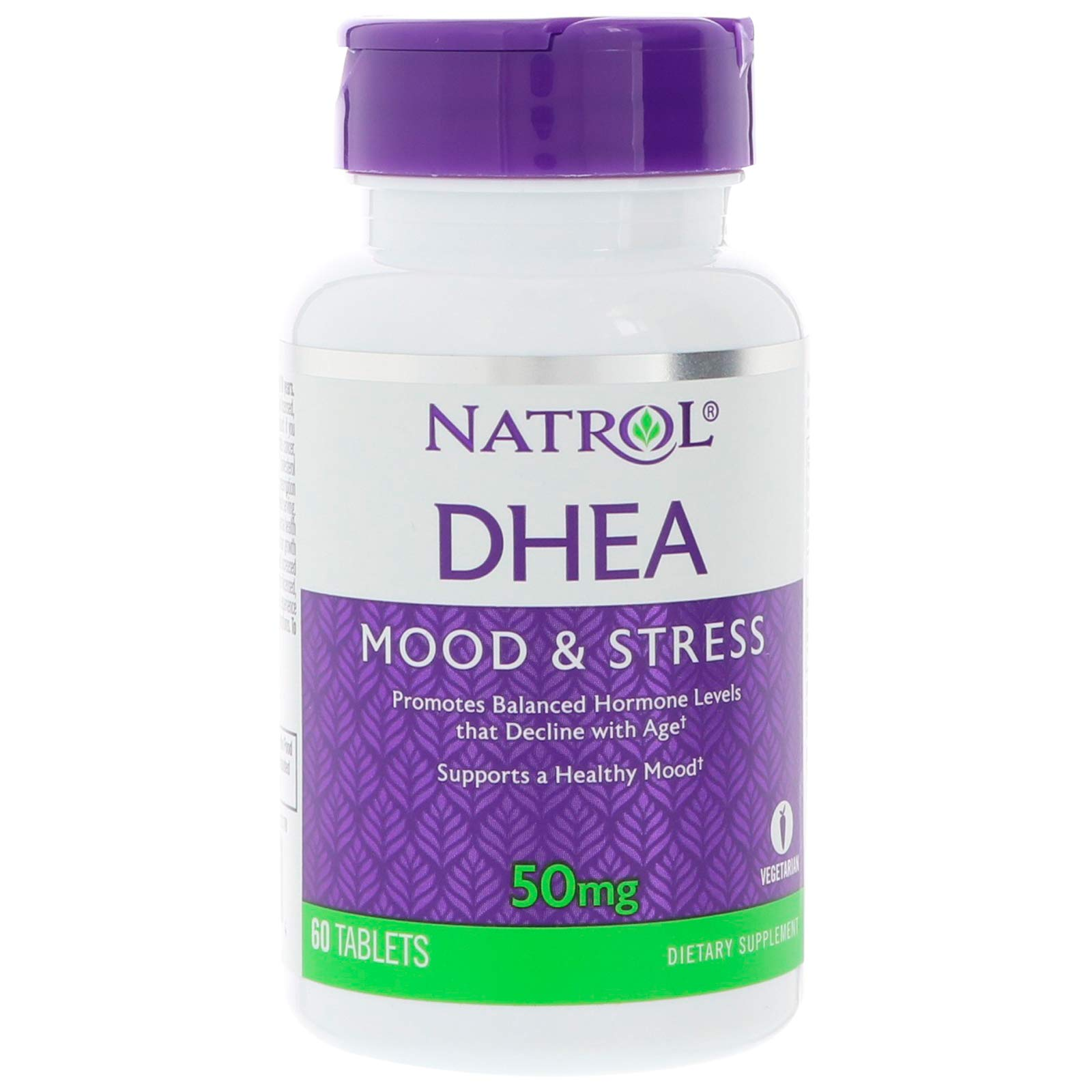 Natrol DHEA 50mg, 60 Tablets (Pack of 6)