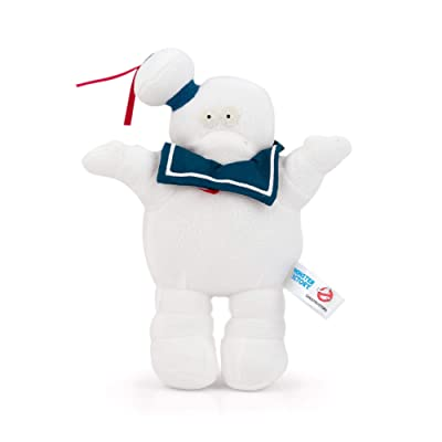 Nerd Block Official Ghostbusters Stay Puft Marshmallow Man Plush - 5-Inch Stuffed Toys - Memorable Movie Monster Plushie - Gift for Toddlers, Kids, and Adults - Licensed Merchandise: Toys & Games