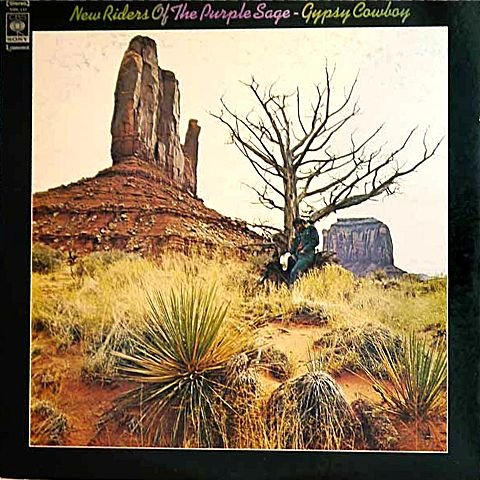 Gypsy Cowboy - Japanese pressing without OBI strip (New Riders Of The Purple Sage Gypsy Cowboy)