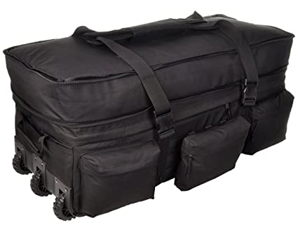 50715875fddc Amazon.com  Sandpiper of California Rolling Loadout Luggage X-Large ...