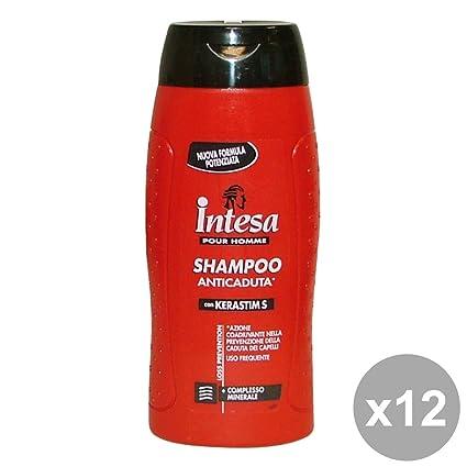 Juego 12 Intesa Champú Anticaída 300 ml. Productos para el cabello