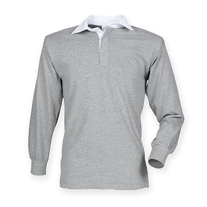 24c984d81c2 Image Unavailable. Image not available for. Colour: Front Row Long Sleeve  Classic Rugby Shirt ...