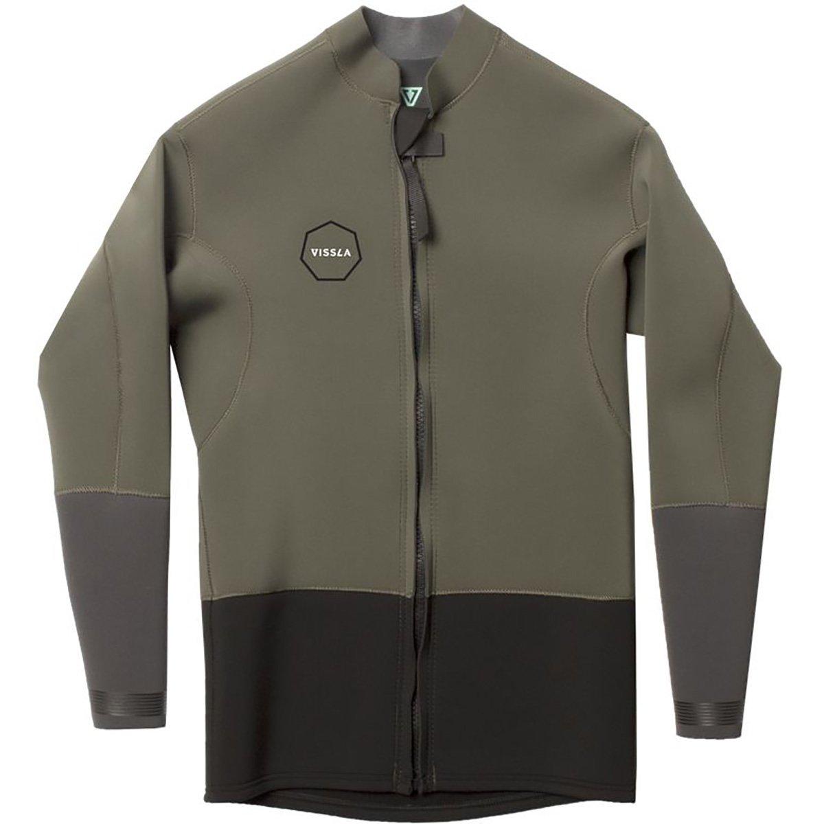 Vissla chaqueta de neopreno con cremallera delantera (2 mm ...