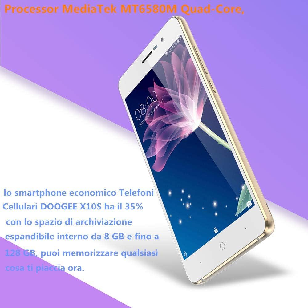 Teléfonos móviles incluidos, DOOGEE X10S Smartphone Android 8.1 ...