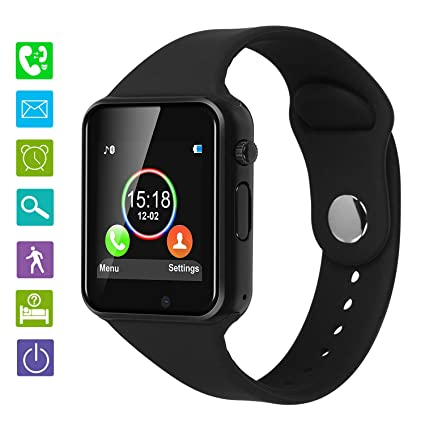 Smartwatch for Android Phones, DOROIM Bluetooth Smart Watch with Pedometer, Smart Watch Phone for Men Women, Sport Smart Watches Compatible Mobile ...