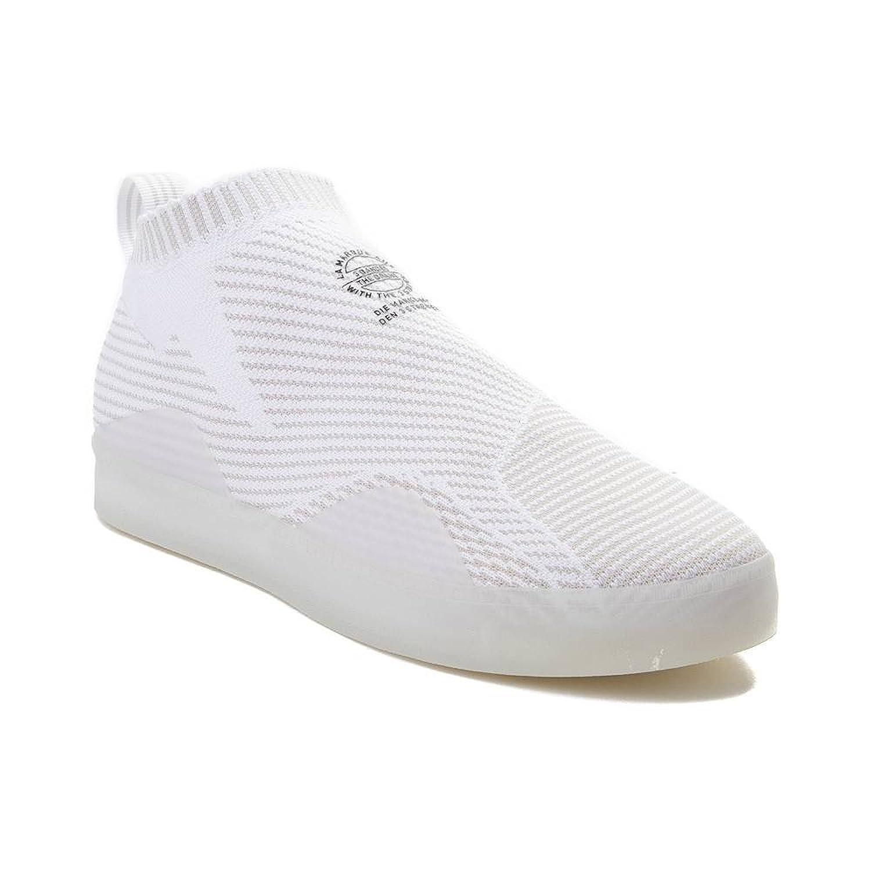 (アディダス) adidas 靴シューズ メンズスニーカー Mens adidas 3ST.002 Primeknit Skate Shoe White ホワイト US 11 (29cm) B07CBS7WD8