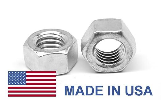 5//16-18 Coarse Finished Hex Nut Aluminum