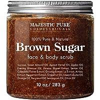 Majestic Pure Exfoliating Brown Sugar Body Scrub 10 oz