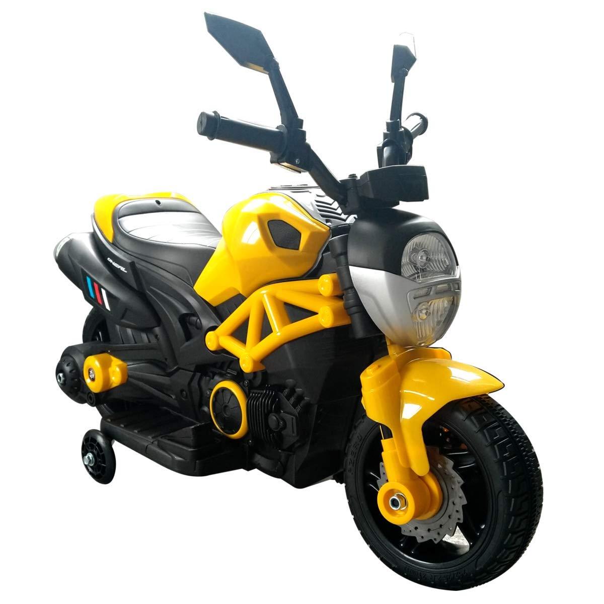B.K.T. SRL Moto da Corsa 6V - Giallo