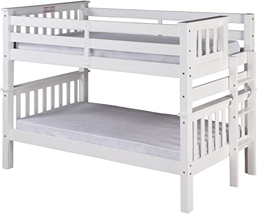 Camaflexi Santa Fe Mission Low Bunk Bed Twin Over Twin