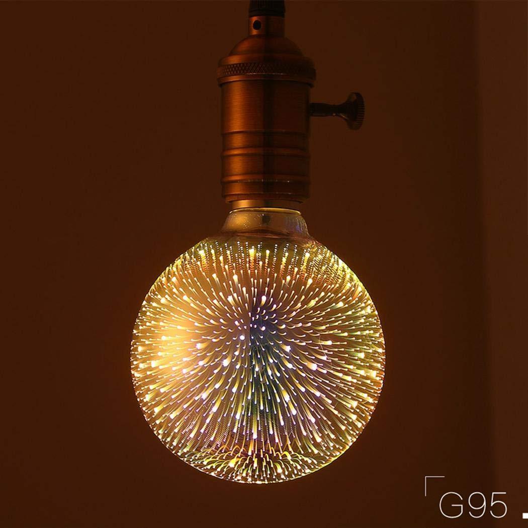 Iekofo Colorful Retro Filament / 4w Edison Bulb Light ...