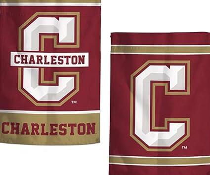 premium selection 7ce3e 21b53 Amazon.com : College of Charleston Cougars Garden Flag 12.5 ...