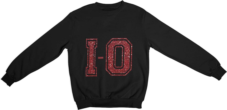 Oaiden Black I-O Crewneck Sweatshirt Unisex