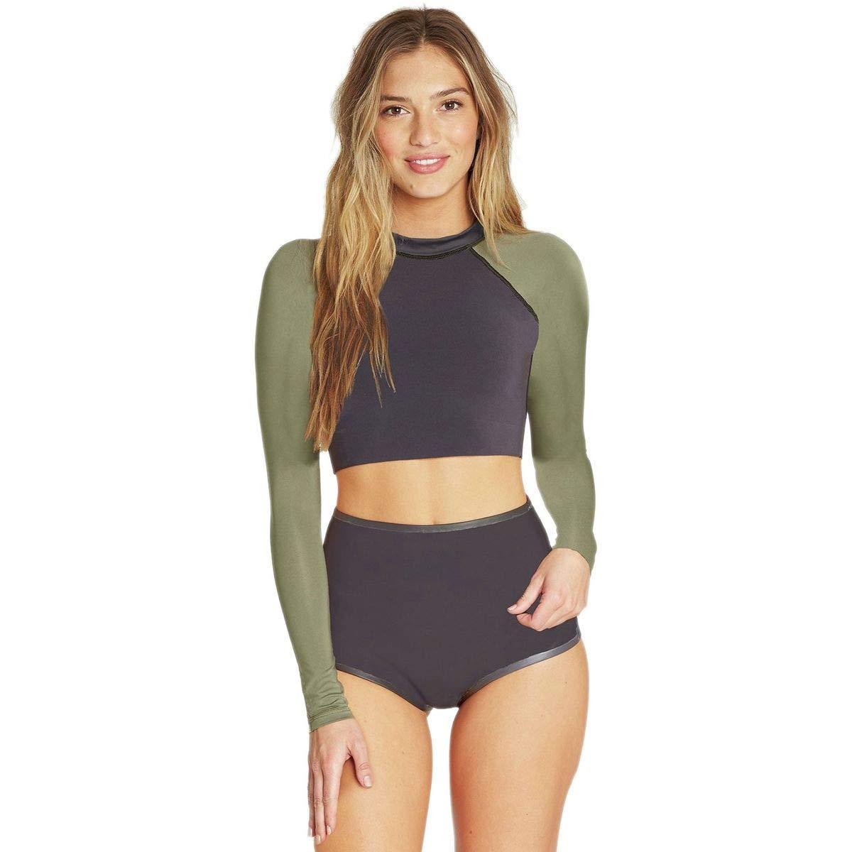 Billabong Womens Long Sleeeve Sea Crop Wetsuit Top