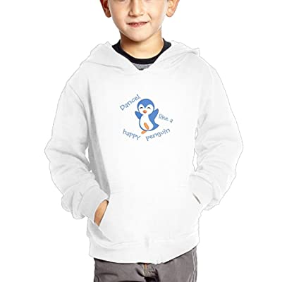 Nklnaln Dance Like A Happy Penguin Boy Girl Hoodie Pocket Pullover.