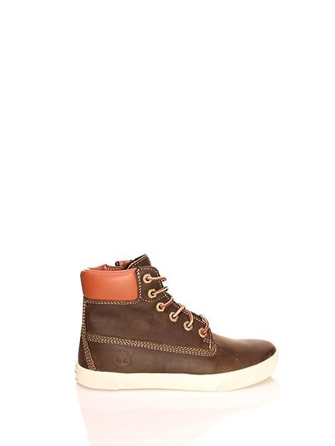 023d48ea9 Timberland - Botas de cuero para niño marrón marrón