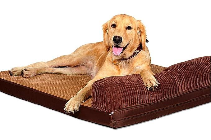 ZSY pet Cama para Perros Grandes Cuna de colchón Suave Colchón de Gato Medio Cómoda Lavable Extraíble Cubierta de Cubierta para Interior: Amazon.es: ...